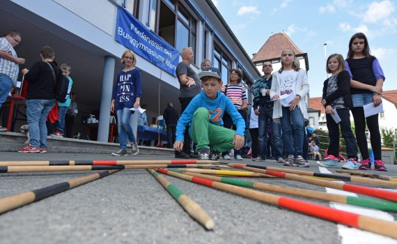 Pausenhoffest Förderverein Burggymnasium Altena